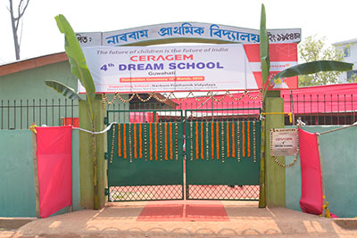 4th Dream School completed in Guwahati